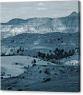 Light And Shadow In West Dakota Canvas Print