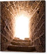Light At End Of The Tunnel Canvas Print