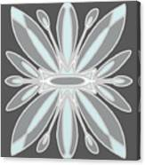 Light Blue Gray Tile Canvas Print