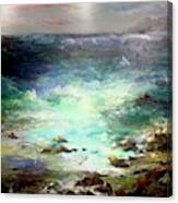 Light Of The Silvery Moon Canvas Print