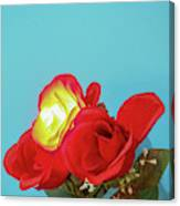 Lighted Rose Canvas Print