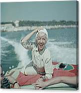 Lily On The Riviera Canvas Print
