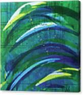 Linear World Canvas Print
