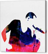 Linkin Park Watercolor Canvas Print