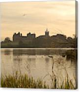 Linlithgow Palace At Dusk Canvas Print