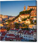 Lisbon. Image Of Lisbon, Portugal Canvas Print