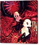 Little Glass Pandas 33 Canvas Print