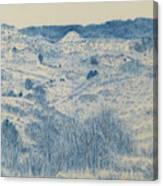 Little Missouri Badlands Enchantment Canvas Print