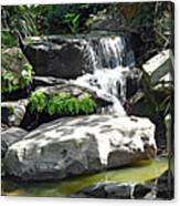 Little Waterfall. Canvas Print