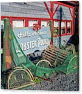 Lobster Pond Restaurant In Halls Harbour Ns Canvas Print