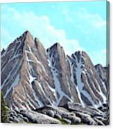Lofty Peaks Canvas Print
