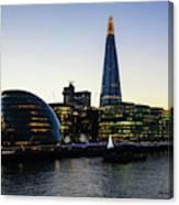 London South Bank 1 Canvas Print