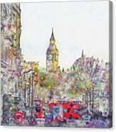 London Street 1 Canvas Print