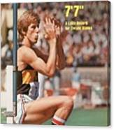 Long Beach State Dwight Stones, 1976 Ncaa Championships Sports Illustrated Cover Canvas Print
