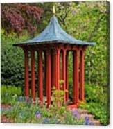 Long Hill Sedgwick Gardens Canvas Print
