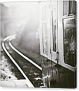 Long Train Running Canvas Print