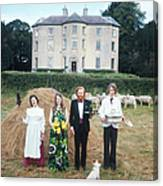 Longfield House And Staff Canvas Print