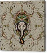 Lord Ganesha - Color On Canvas