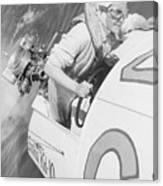 Loretta Turnbull Racing Canvas Print