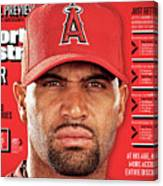 Los Angeles Angels Of Anaheim Albert Pujols, 2012 Mlb Sports Illustrated Cover Canvas Print