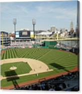 Los Angeles Dodgers V Pittsburgh Pirates Canvas Print