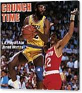Los Angeles Lakers James Worthy, 1986 Nba Western Sports Illustrated Cover Canvas Print