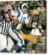Los Angeles Rams Roman Gabriel Sports Illustrated Cover Canvas Print