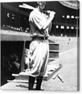 Lou Gehrig Before The Game Canvas Print