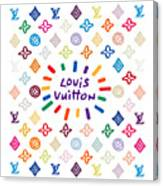 Louis Vuitton Monogram-10 Canvas Print