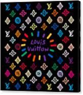 Louis Vuitton Monogram-11 Canvas Print