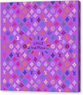 Louis Vuitton Monogram-5 Canvas Print