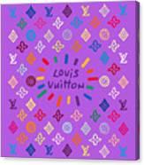 Louis Vuitton Monogram-8 Canvas Print