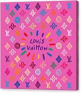 Louis Vuitton Monogram-9 Canvas Print
