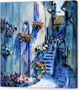 Lourmarin Walk Canvas Print