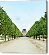 Louvre In  Paris Canvas Print