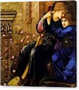 Love Among The Ruins 1894 Canvas Print