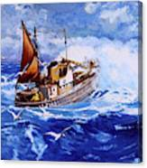 Lowestoft Trawler Canvas Print
