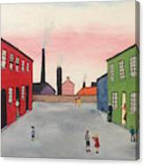 Lowry In Japanese Bloom Canvas Print