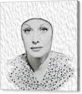 Lucille Ball 2a Canvas Print