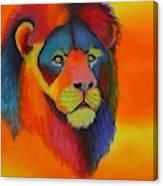 Luminesent Lion  Canvas Print