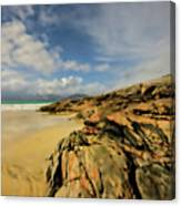 Luskentyre Digital Painting Canvas Print
