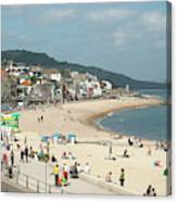 Lyme Regis Beach Canvas Print