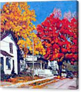 Machelle Street, Canvas Print