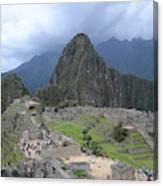 Machu Picchu Canvas Print