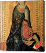 Madonna Of The Annunciation Canvas Print