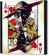 Makiavellian Conundrum - Tupac Shakur Canvas Print