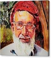 Manager Bashir Canvas Print