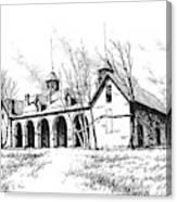 Marcus Daly Tammany Barn Hamilton Montana Canvas Print