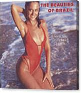 Maria Joao Swimsuit 1978 Sports Illustrated Cover Canvas Print