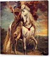 Marie De Medici At Pont De Ce Canvas Print